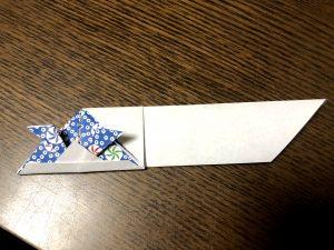 可愛いカブト箸袋の折り方写真37