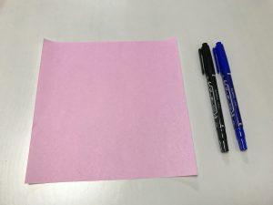 折り紙ミュウ写真1