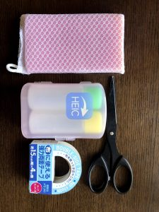 簡単石鹸ケースの作り方写真1