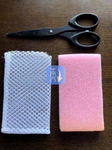 簡単石鹸ケースの作り方写真2