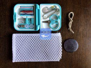 簡単石鹸ネットの作り方写真2