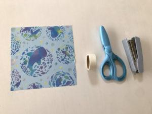 折り紙三角ラッピング写真1