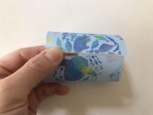 折り紙三角ラッピング写真3