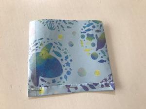 折り紙三角ラッピング写真5