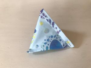 折り紙三角ラッピング写真9