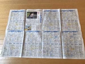 新聞紙フリスビー写真1