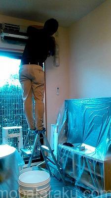 エアコンクリーニング作業
