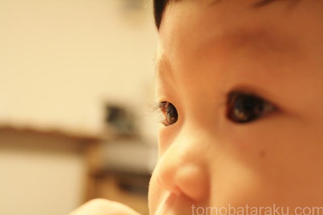 子供のアップ画像